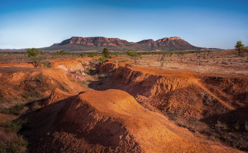 Wilpena Pound in the Flinders Ranges, South Australia
