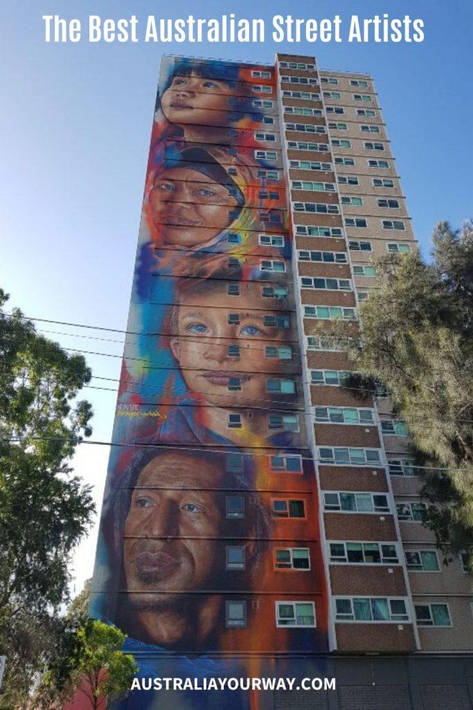 adnate Australia street art
