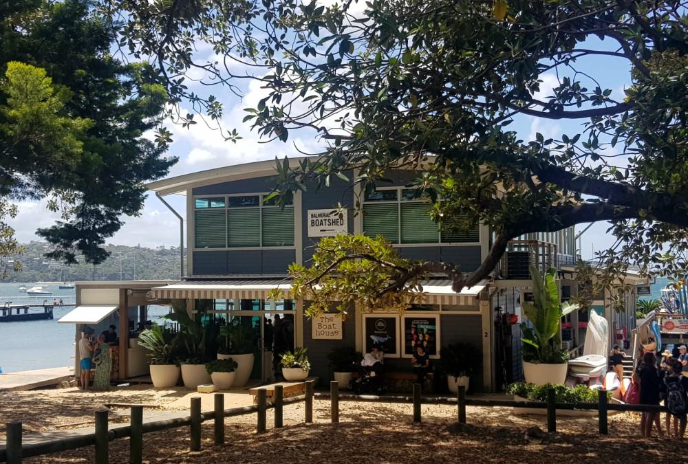 boathouse Balmoral Sydney