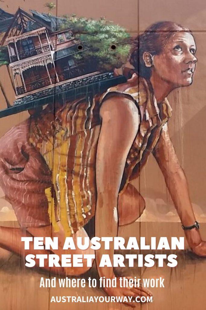 street artists in australia