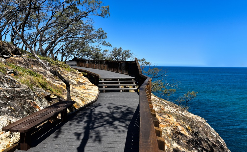 North Gorge Walk Stradbroke Island Queensland - a popular Brisbane day trip