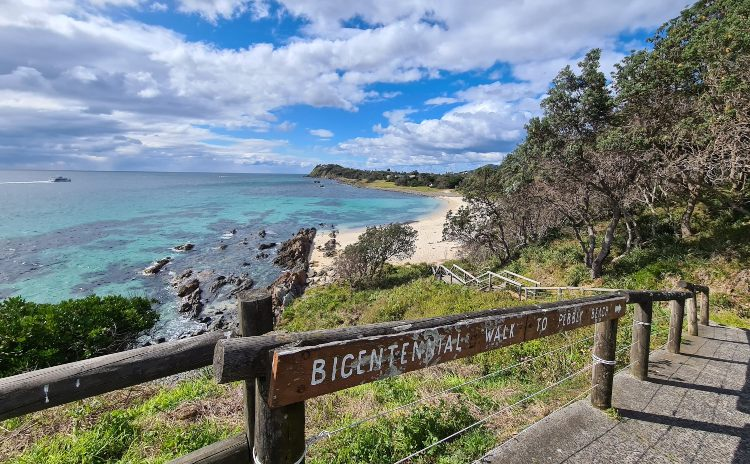 Bicentennial Walk to Pebbly Beach Forster