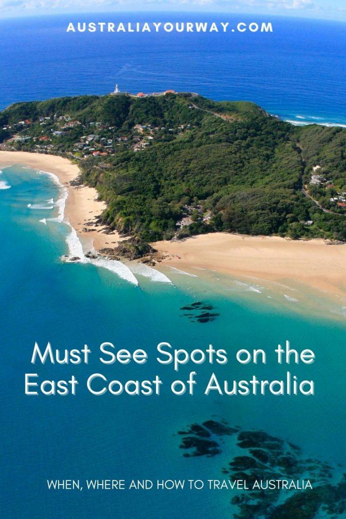 Must see spots on Australia's East Coast
