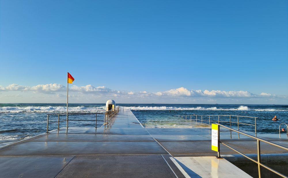 Newcastle Beach Ocean Pool
