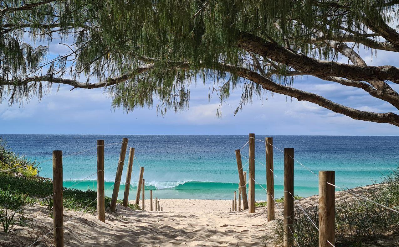 One Mile Beach Foster NSW Australia