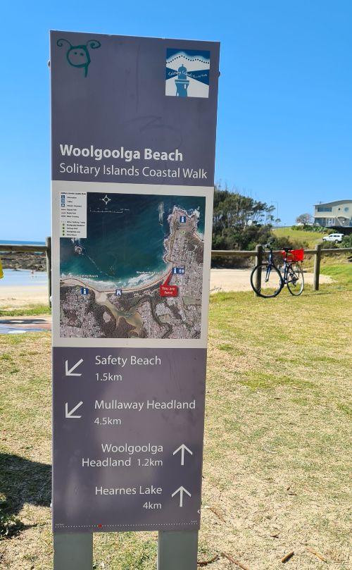 Solitary islands coastal walk