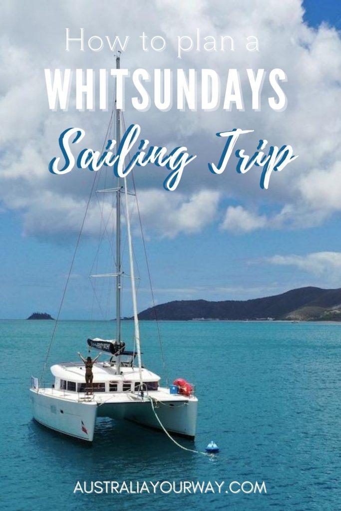Whitsunday sail