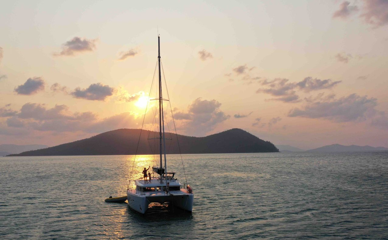 Whitsundays Yacht charter boat in Queensland