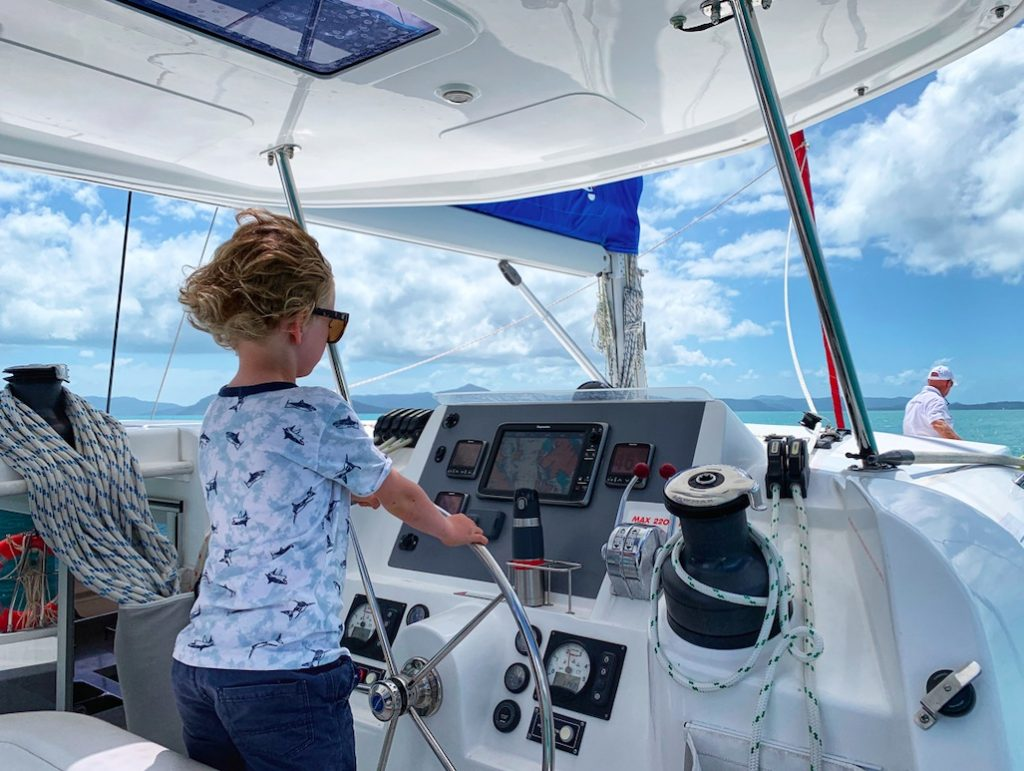 bareboat self sailing