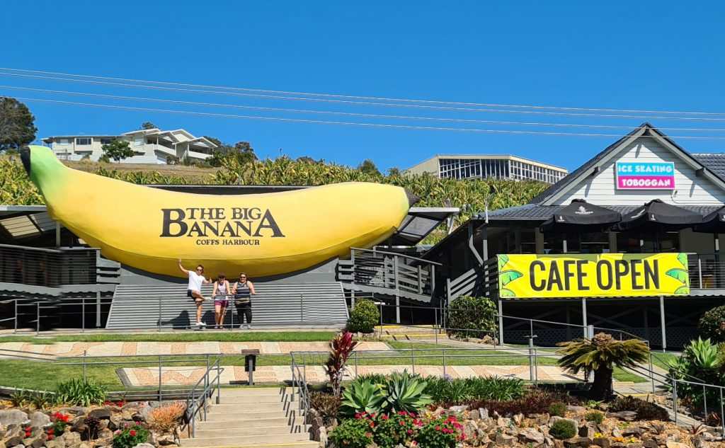The Big Banana is the number one Things to do in Coffs Harbour