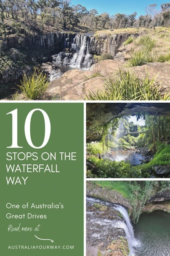 10 stops on Waterfall Way NSW