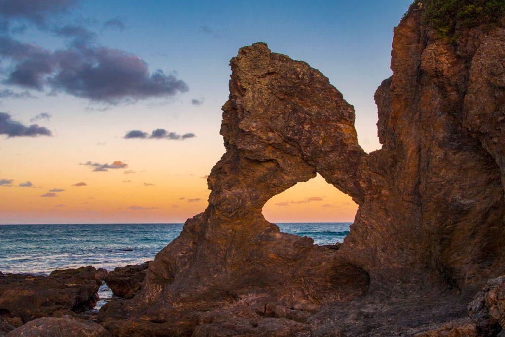 Landmarks in Australia - Australia Rock Narooma NSW