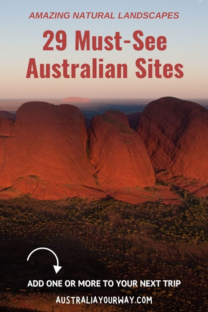 Australian Landmarks pin 1