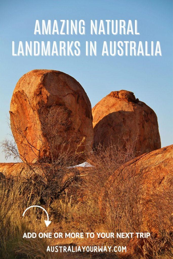 Australian landscapes pin 2