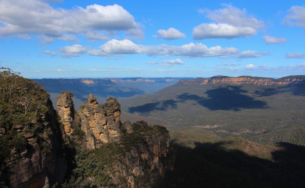 Blue Mountains australia landscape Formation