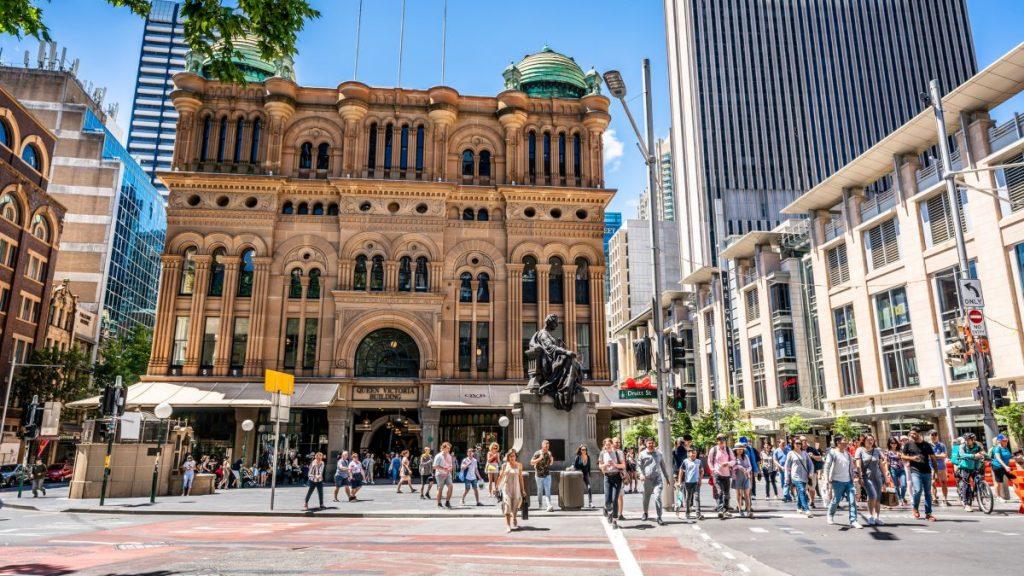 Sydney's Queen Victoria bulding