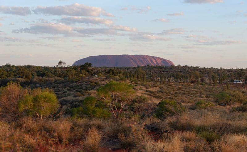 Australian Landmark Uluru