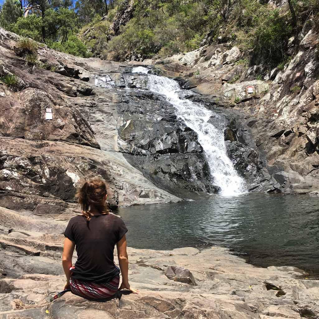 Cedar Creek Waterfall Australia honeymoon