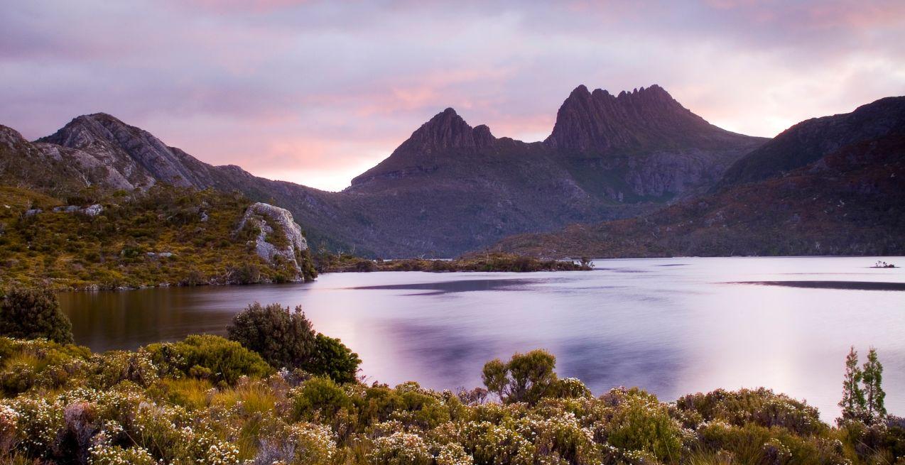 Cradle Mountain Dove Lake in Tasmania Honeymoon