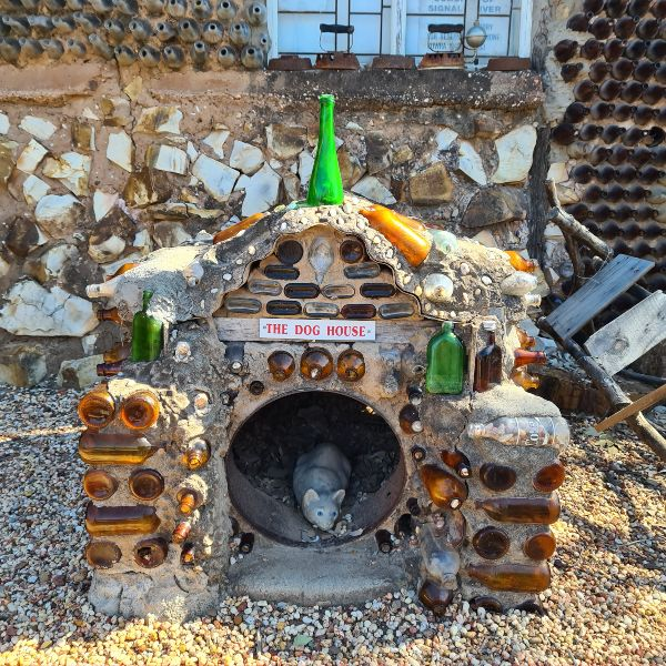 Dog House at the Bottle House