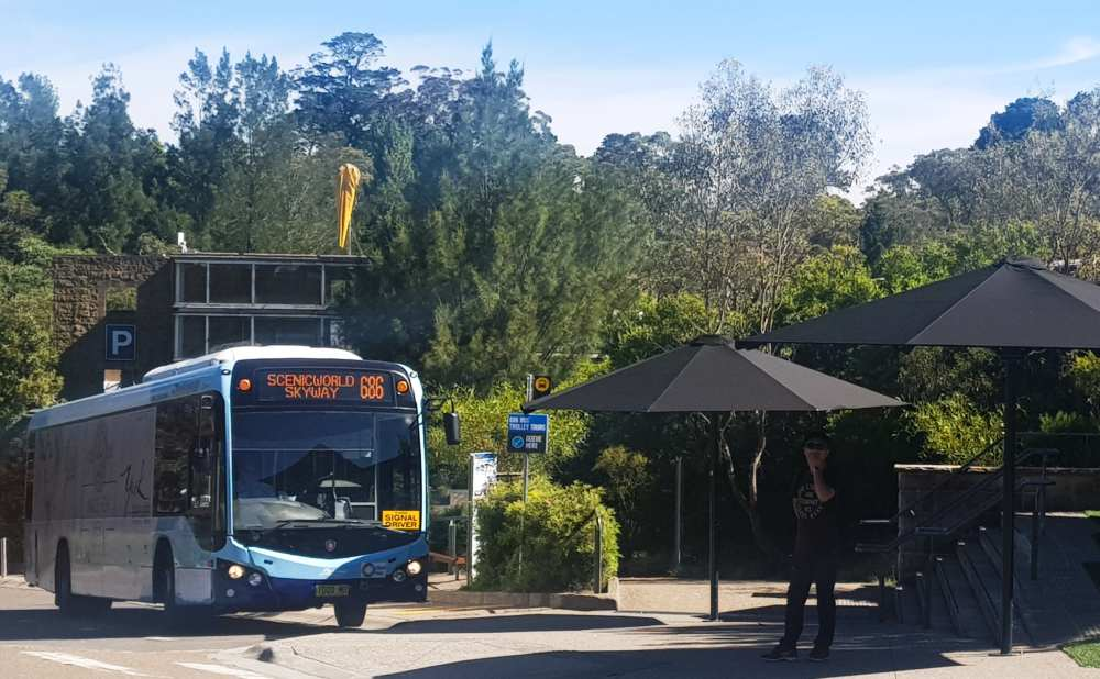 This one day blue mountains itinerary uses local buses
