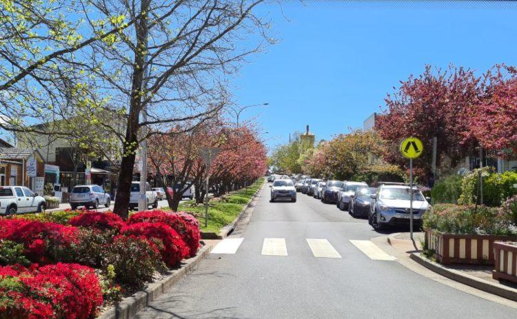 Leura main street Blue Mountains