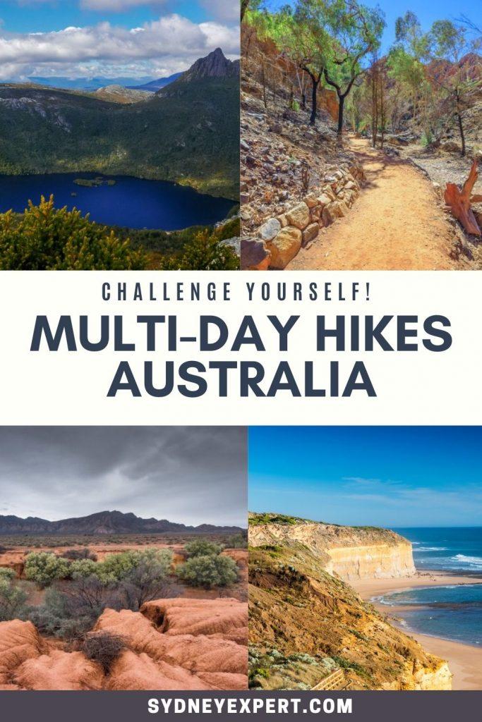 Multi Day Hikes in Australia