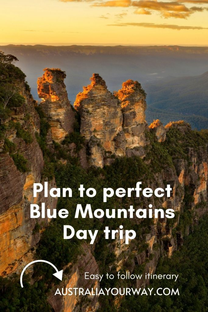 One day Blue Mountains itinerary