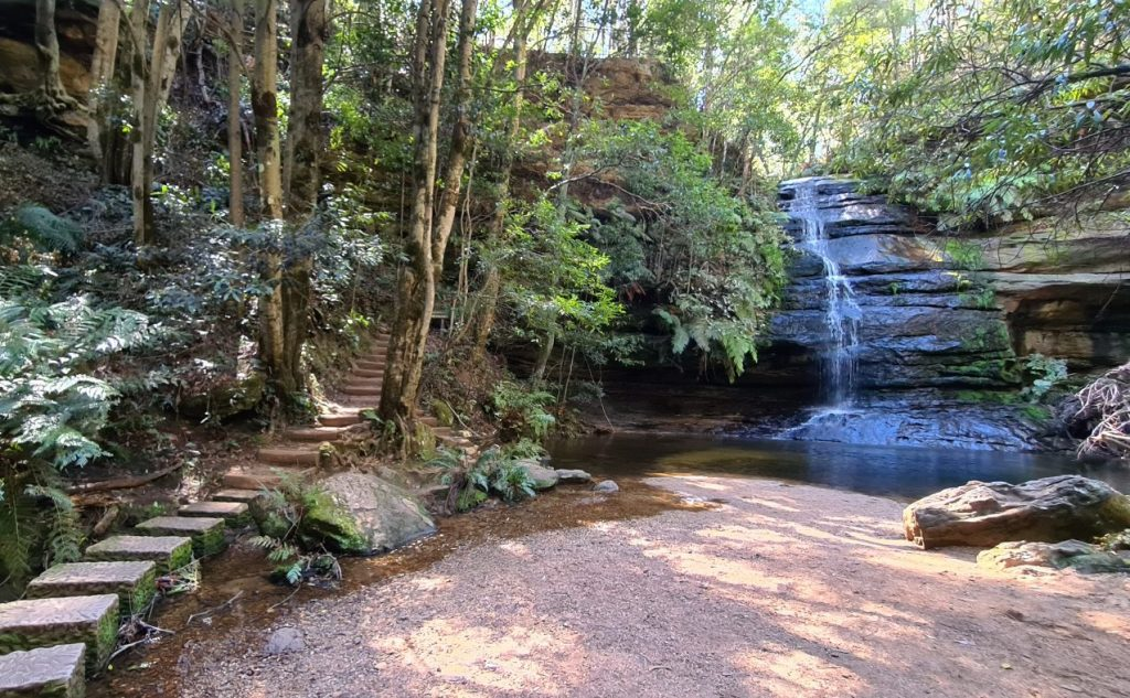 Pool of Silom walk Leura Blue Mountains Copy