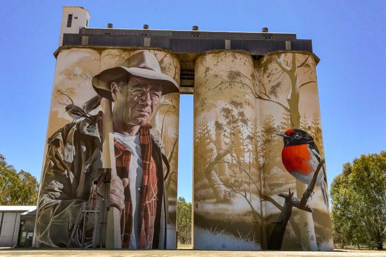 Wirrabara Silo Art Trail South Australia