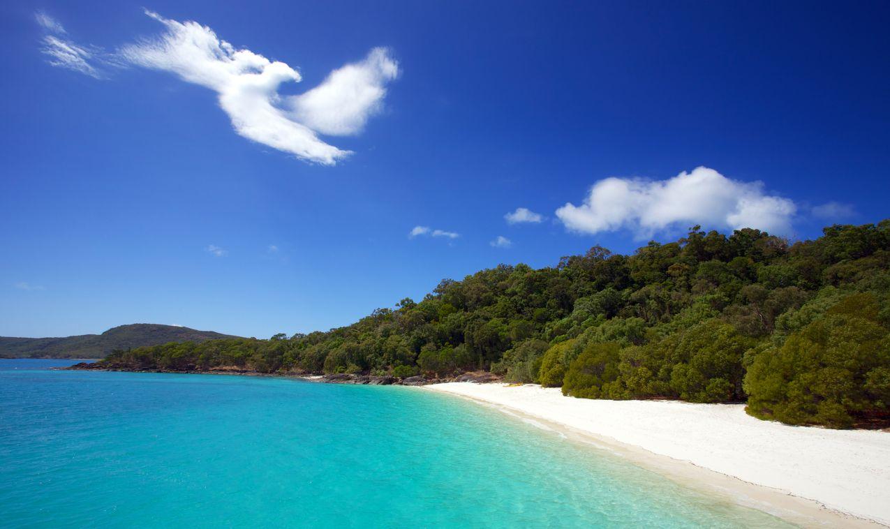 Queensland Beach Whitehaven White Sand