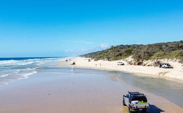 Fraser Island 75 Mile Beach in Queensland
