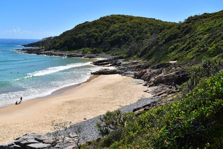 Granite Bay Noosa Beach in Queensland