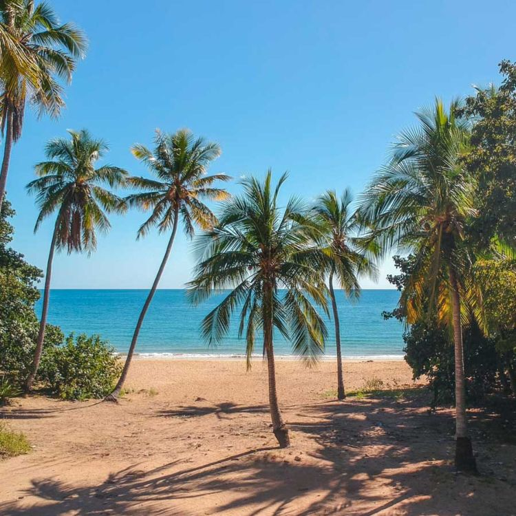 Beach on Magnetic Island Queensland