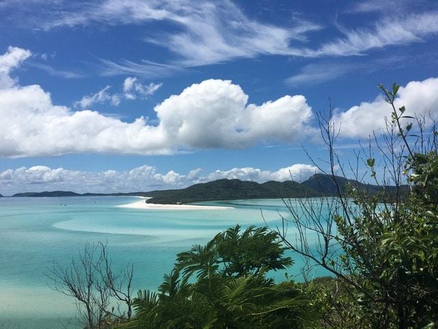 Whitehaven Beach in Queensland