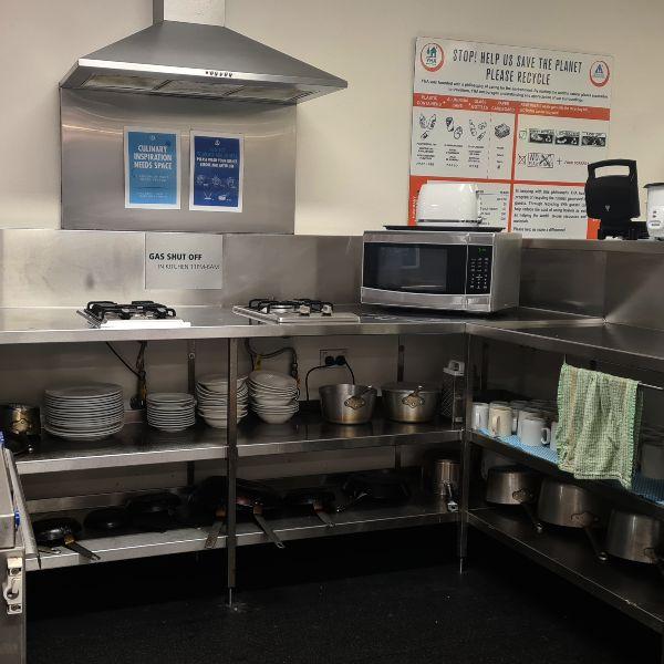 YHA Sydney Kitchen