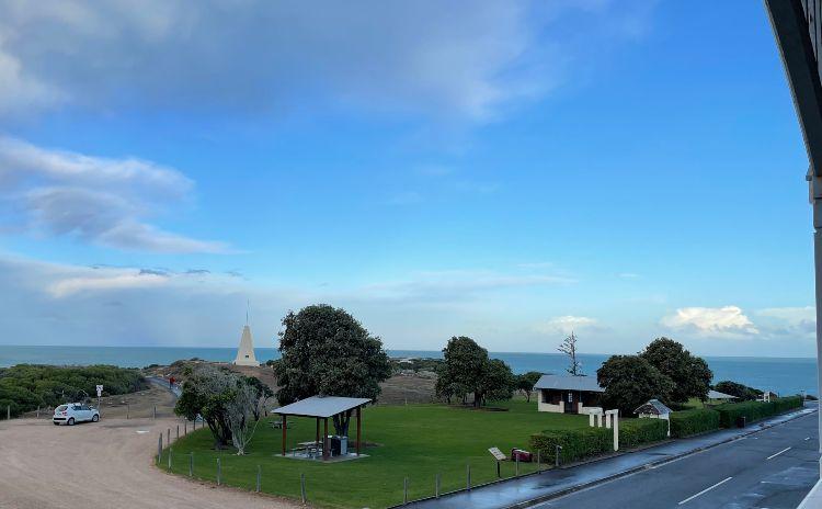 Port Elliot YHA View from Balcony
