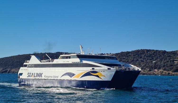 Start your Kangaroo Island Holiday on the Sealink Ferry