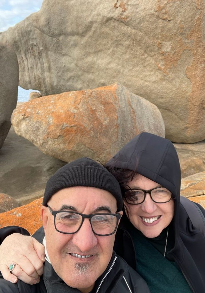 Windy morning at remarkable rocks
