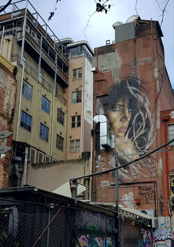 Adnate Mural in Melbourne