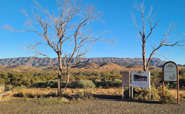 Arkaba Lookout Flinders Ranges SA