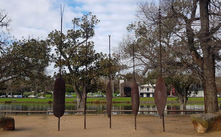 Birrarung Marr Aboriginal Artwork