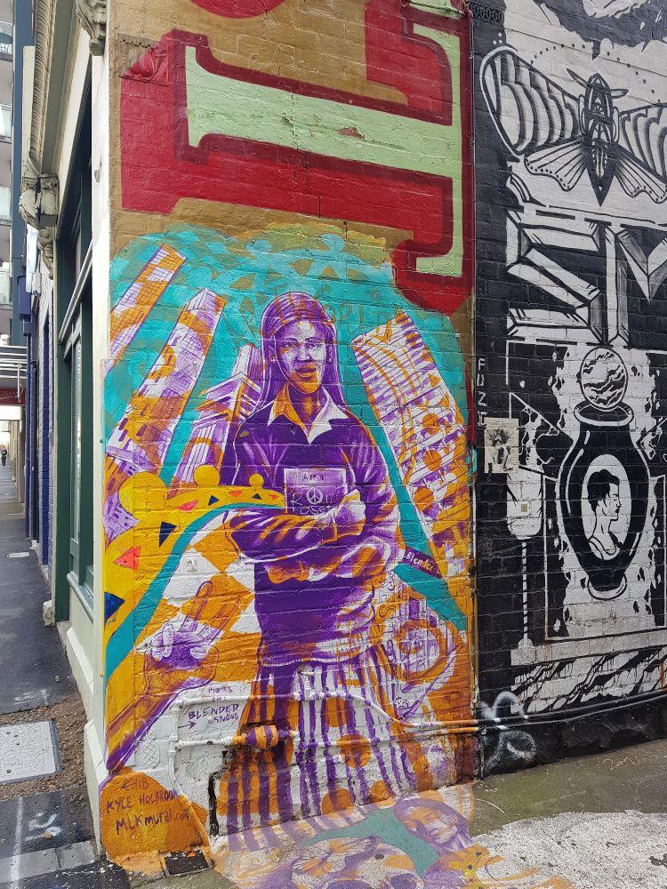 Blender Lane Sydney