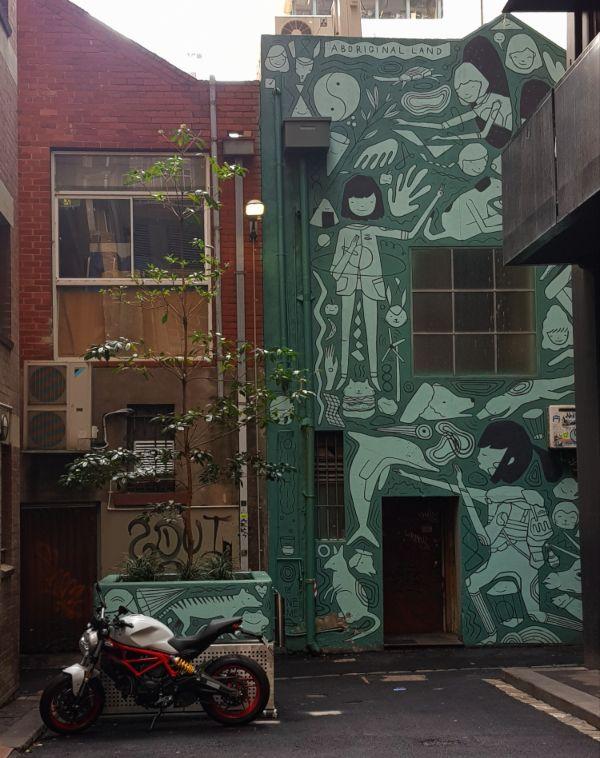 Ghostpatrol Coromandel Place Melbourne