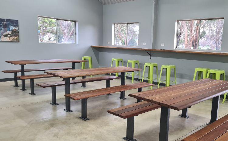 Indoor kitchen at Western KI Park 1