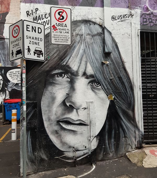 Malcolm Young ACDC Lane