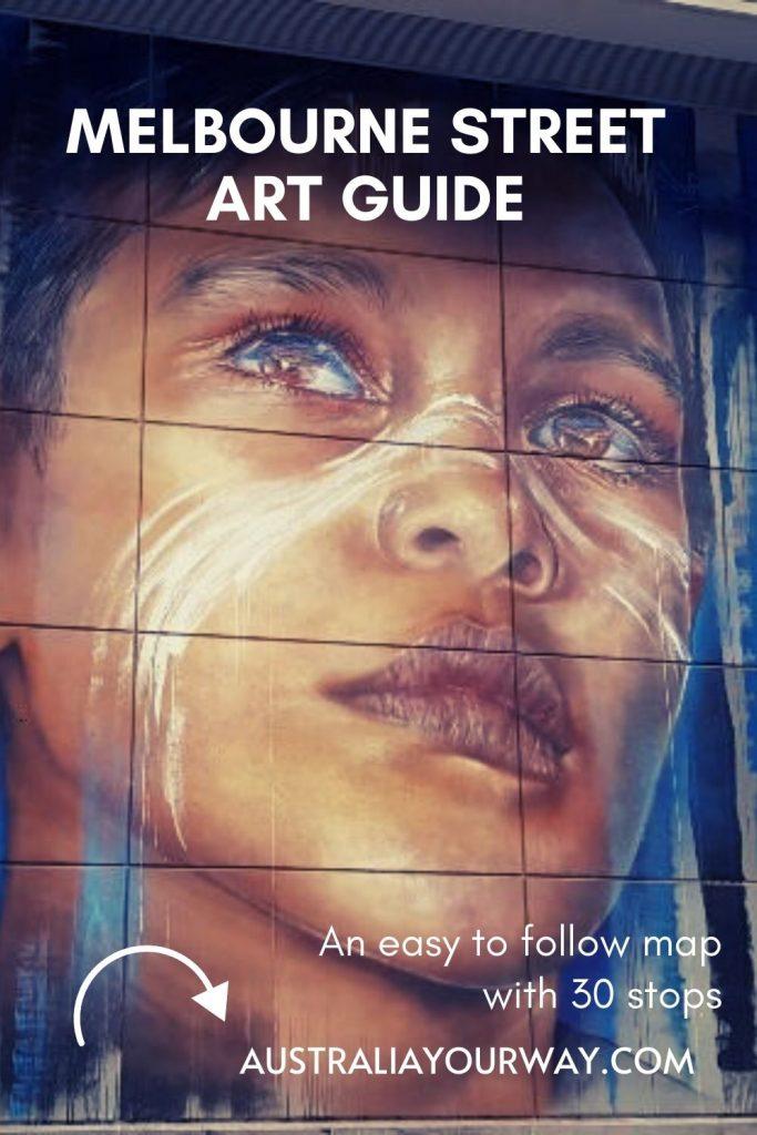 Melb Adnate Street Art Pin
