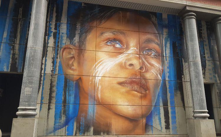 Melbourne Adnate Mural
