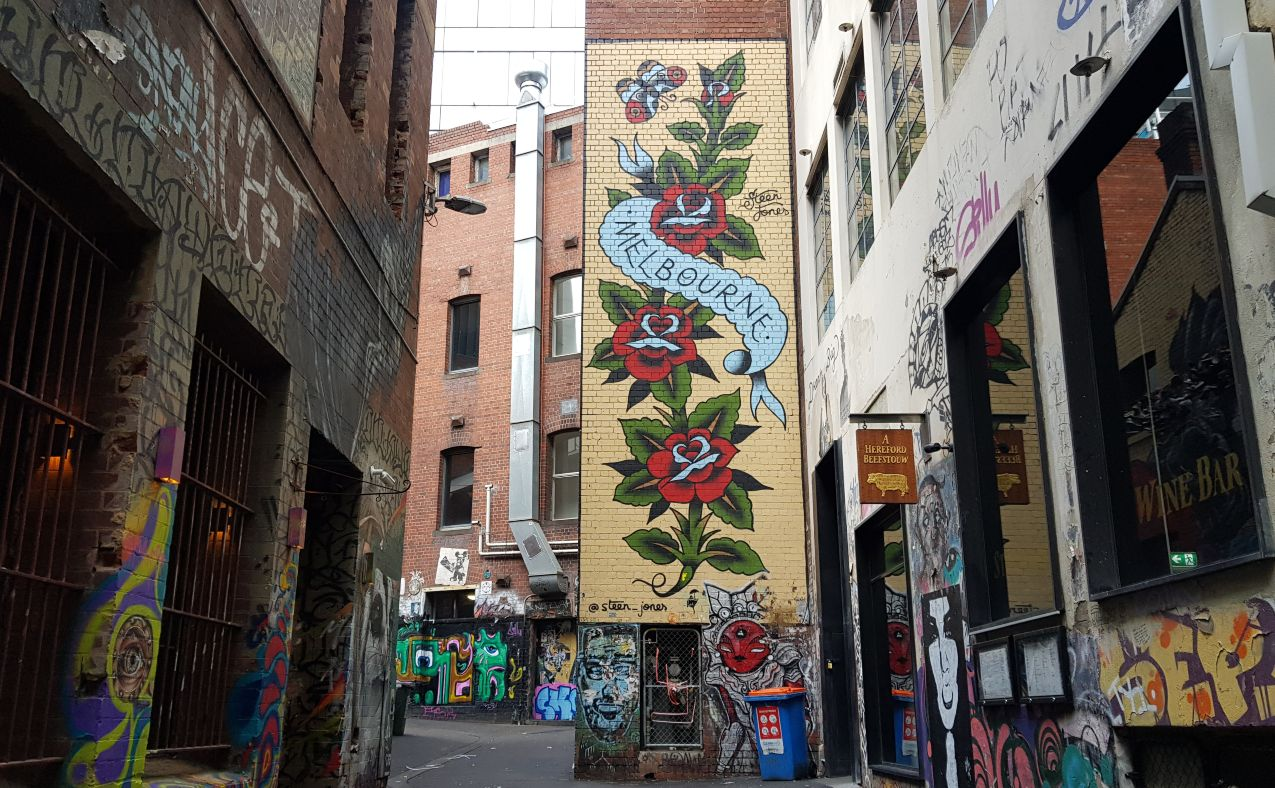 Epic Street Art in Melbourne Guide +Map [2021]