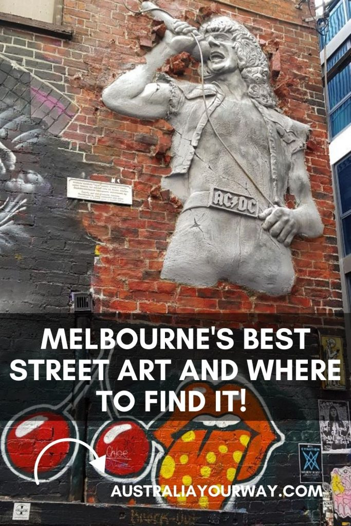 Melbourne Street Art ACDC pin